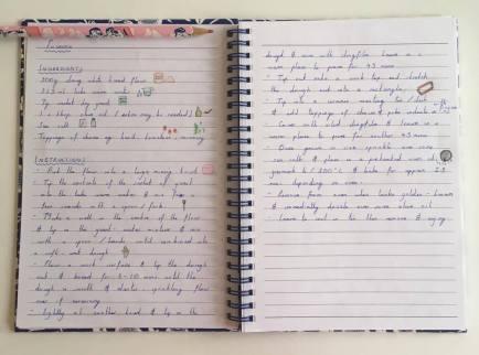 notebook focaccia