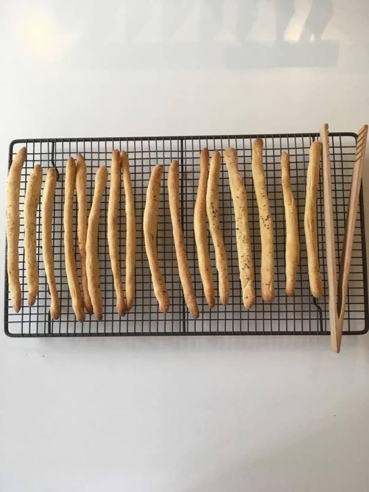 Grissini (breadsticks)
