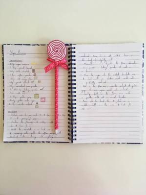 notebook vegan brownies
