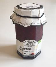 raspberry and prosecco jam