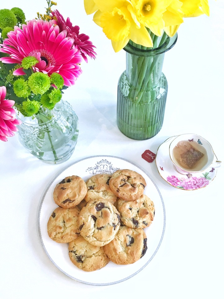 GF chocolate chip cookies (FODMAP friendly)